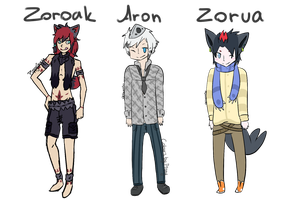 Adoptables: Pokemon Gijinka - Batch 2 (CLOSED) by PipCookiesAdopts