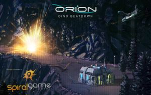 Orion 'Dino Beatdown' illustration by JamesLedgerConcepts