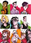 sketch card bands set 3 by nekroworld-AgL
