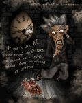 The tell-tale heart by TheEmptyKissOfDeath