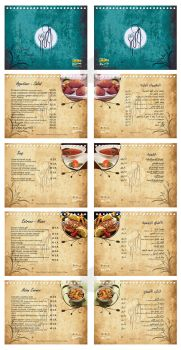 Dorra - Table Menu by mercysoul