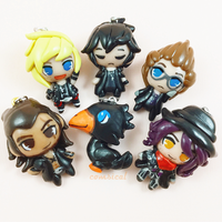 FFXV chibi charms by Comsical