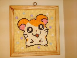 Hamtaro Cross-stitch by Luminaria05