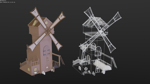 Windmill by betasector