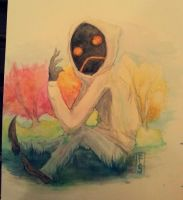 Hoody Watercolors by Thalifi