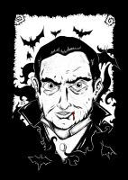 Dracula of Bela Lugosi by inkarts