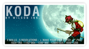 KODA Wallpaper by wilsoninc
