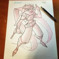 Commish 162 WIP 02 by RobDuenas