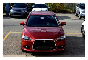 Mitsubishi Ralliart 09 by captg