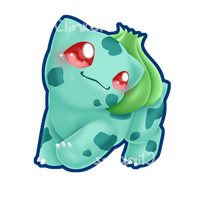 Bulbasaur :take a stroll with me: by Clinkorz