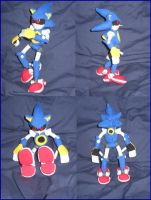 Metal Sonic Plushie by Zero20-2