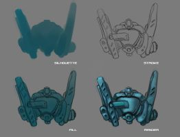 Concept. Helmet. WIP by KriGH