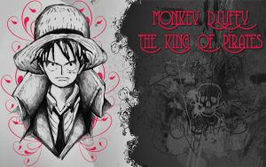 Monkey D.Loffy Wallpaper-1 By AraGorN-Sama by AraGorN-Sama