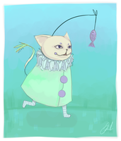 fishing by Octish