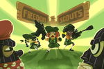 Freedom Scouts by WideMouthInk
