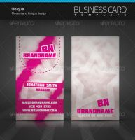Unique Business Card by artnook
