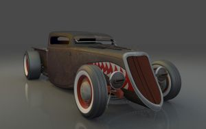 1934 Rat rod by FlyingScotsman