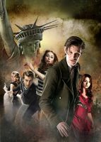 DOCTOR WHO SERIES 7 POSTER by MrPacinoHead