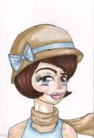 20s Chick by TheLuckyStarhopper