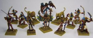 MORDHEIM Cult of Harakhte Warband (Tzeentch) by FraterSINISTER