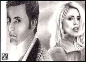 The Doctor and Rose by EvaKedves