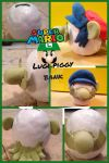 Luigi piggy bank by anime1999