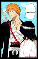IchiRuki Manga Coloring by Etania