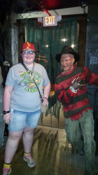 Me and Freddy Kruger by sonichannah