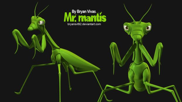 Mr Mantis by bryansvt92