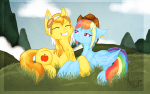 +MLP:LH - BurnBow - You are such a dork+ by A-Ponies-Love