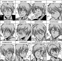 Expression Meme: My OC by AtomicKitten13