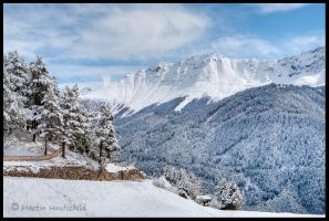 Austrian Mountains III by Haufschild