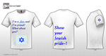 I'm a Jew, and I'm Proud! T-Shirt by MitzvahRose