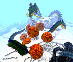 Minecraft: Shenron by Picklocks