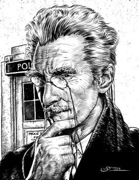 Dr Who Inktober8 by Sgrum