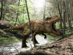 Dino on the woods by lcamaral