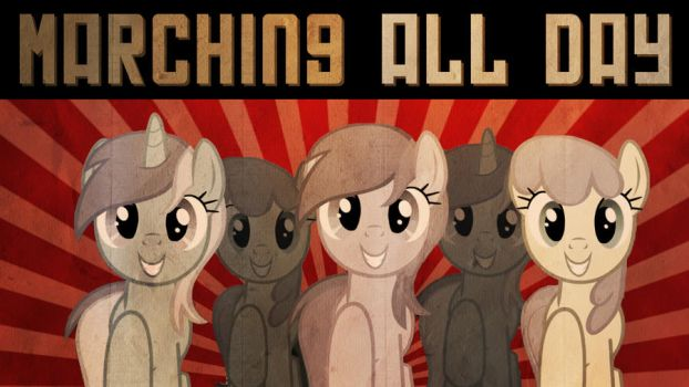 Soviet Pony March Wallpaper 4 by DabuXian