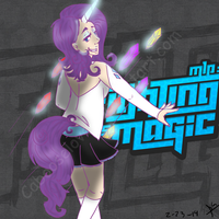 Human Rarity - Fighting is Magic by Cabooselover