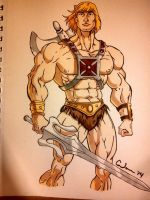 Yeah. I drew He Man. by Raptchur