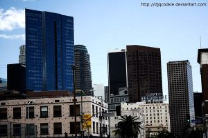 L.A. Skylines by djqcookie