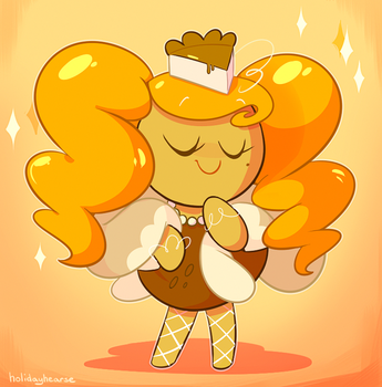 cheesecake cookie by holidayhearse