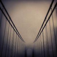 Foggy Bridge by bloknayrb