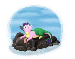 On the rocks by BakaMichi