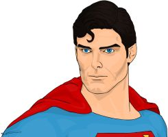Christopher Reeve Superman--BJS by Orlock