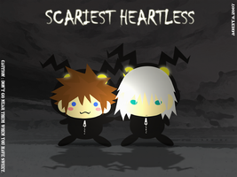 KH2 : SCARIEST HEARTLESS by Aoeiya