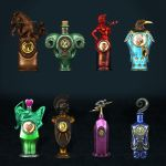 BioShock Infinite Vigors by ArmachamCorp