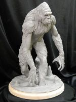 Sasquatch-wip-5 by Blairsculpture