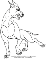 New Ginga LineArt 4 by DragonHeartLuver