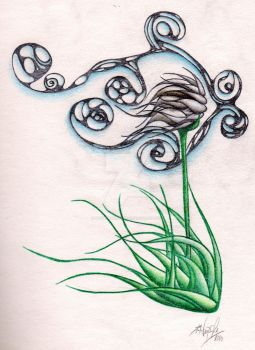 Sedge Wind Tattoo by Prozzakchylde