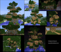 TronServer :: 001 :: Tree House by SilvernStrings
